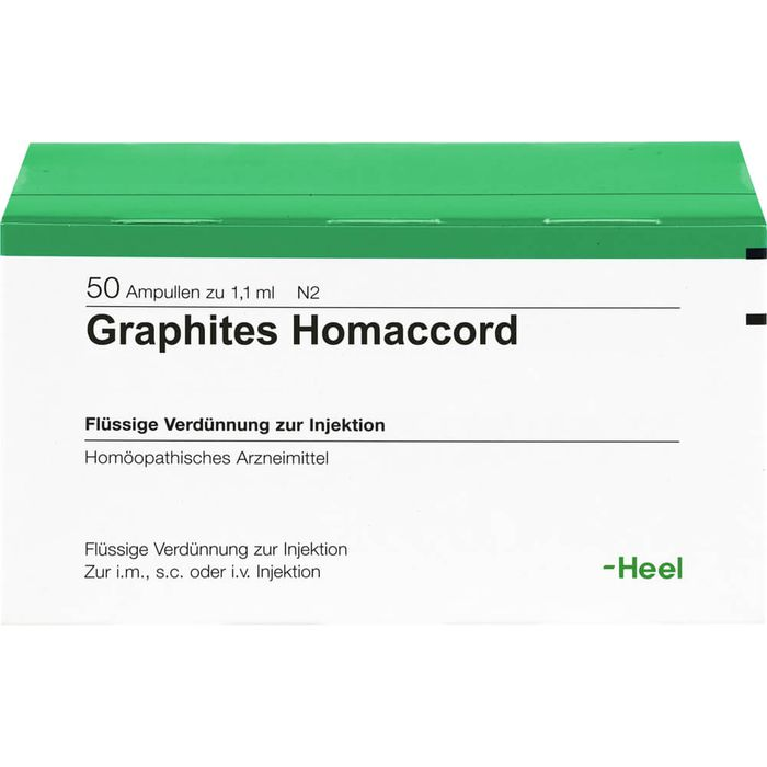 GRAPHITES HOMACCORD Ampullen