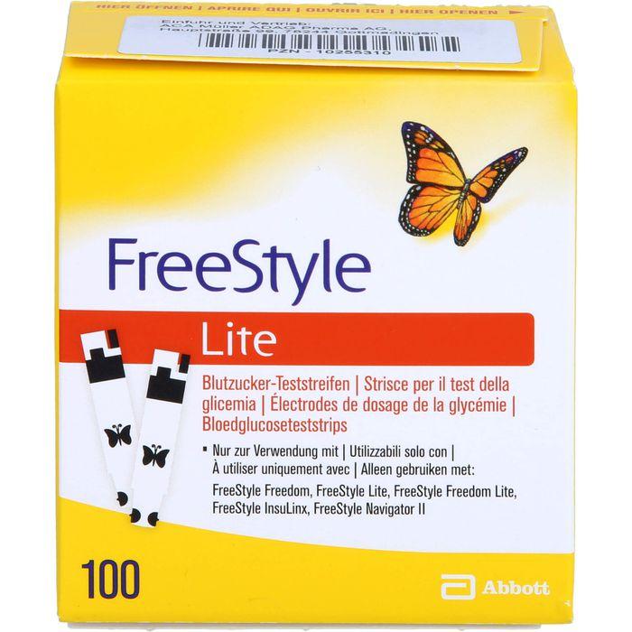 FREESTYLE Lite Teststreifen ohne Codieren
