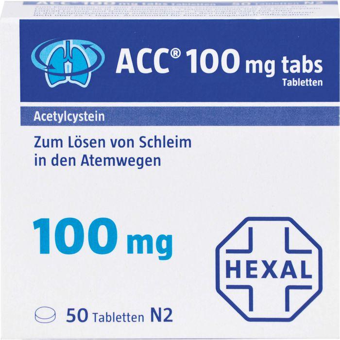 ACC 100 tabs Tabletten