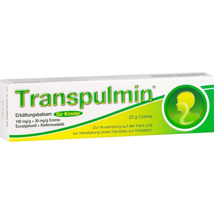 TRANSPULMIN Erkältungsbalsam für Kinder