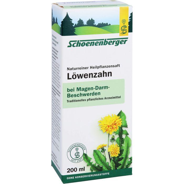 LÖWENZAHN SAFT Schoenenberger