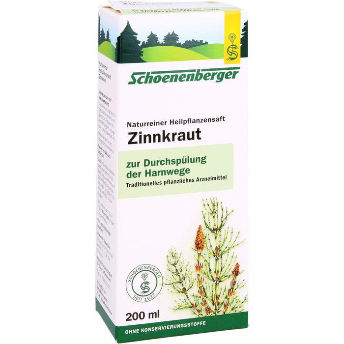 ZINNKRAUT SAFT Schoenenberger