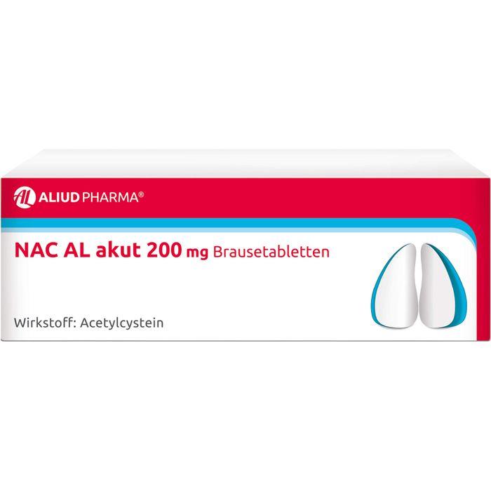 NAC AL akut 200 mg Brausetabletten
