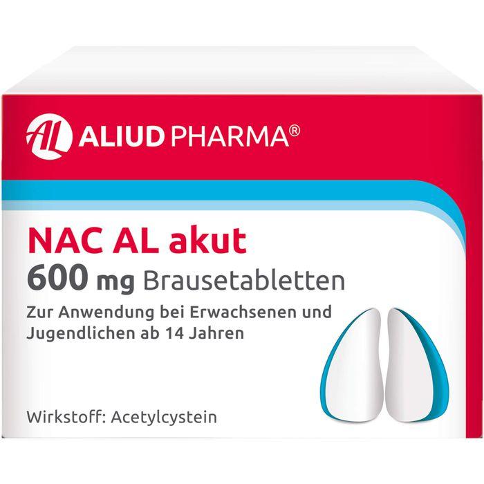 NAC AL akut 600 mg Brausetabletten
