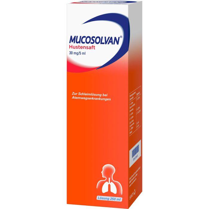 MUCOSOLVAN Saft 30 mg/5 ml