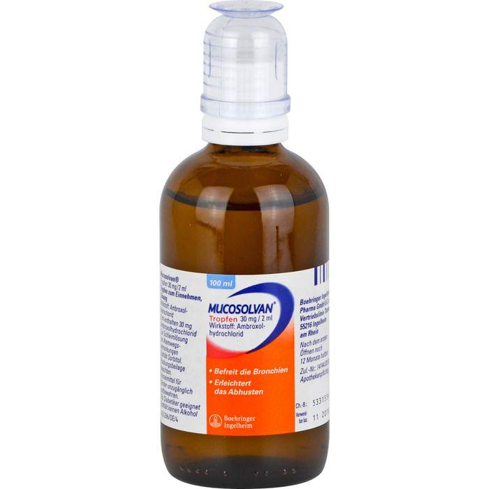 MUCOSOLVAN Tropfen 30 mg/2 ml