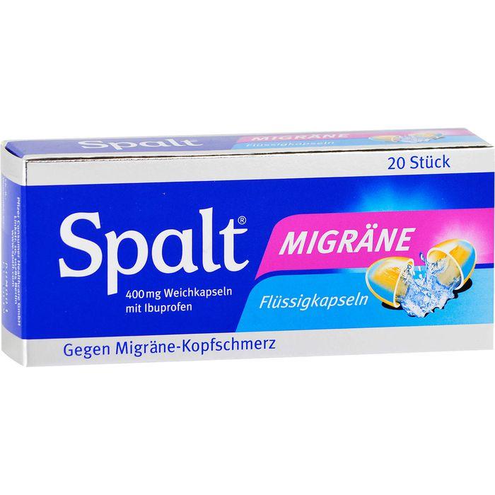 SPALT Migräne Weichkapseln