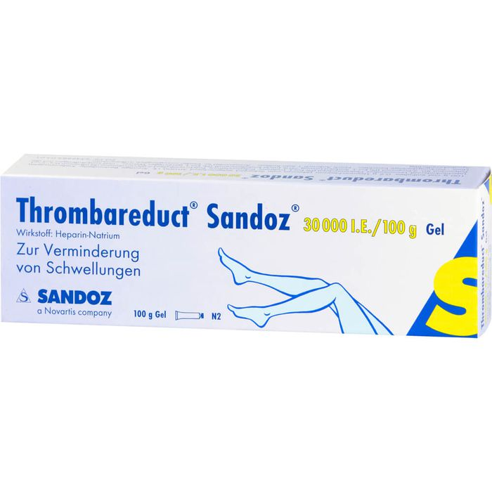 THROMBAREDUCT Sandoz 30.000 I.E. Gel