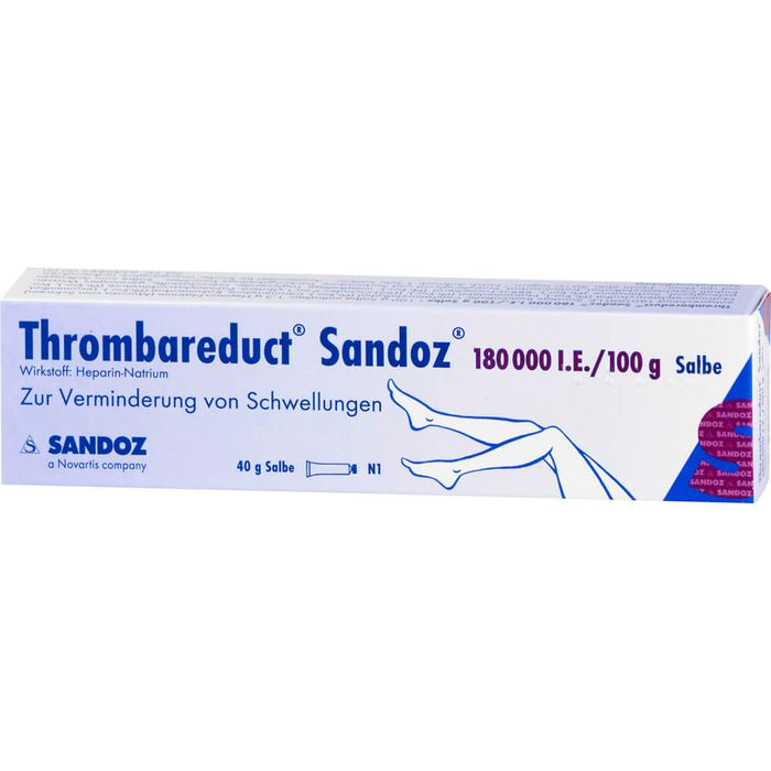 THROMBAREDUCT Sandoz 180.000 I.E. Salbe