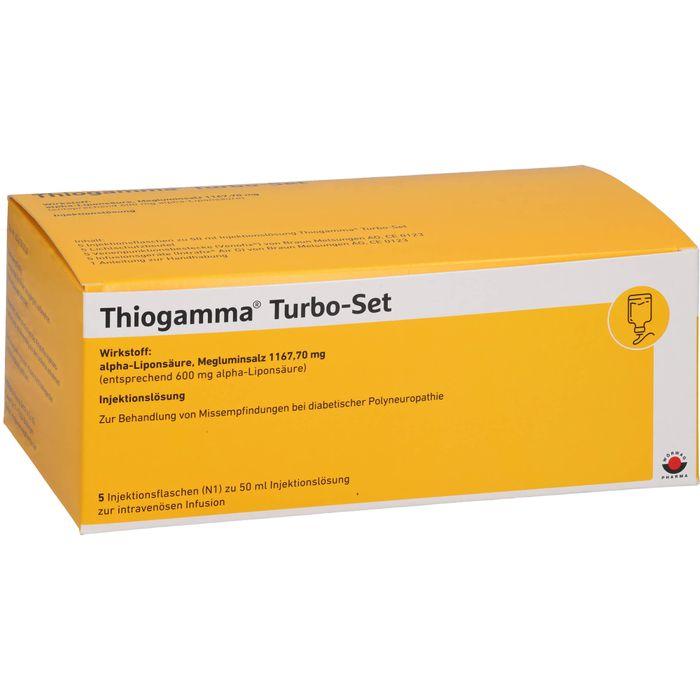 THIOGAMMA Turbo Set Injektionsflaschen