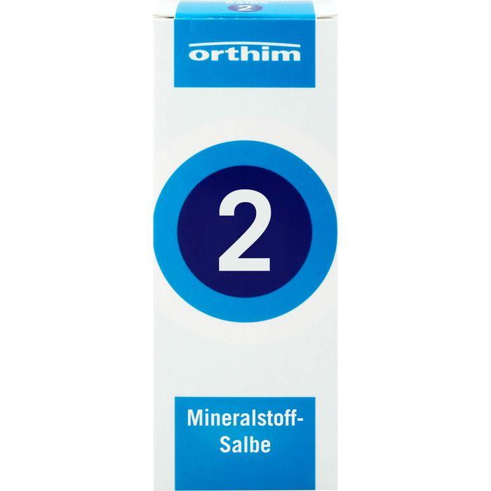 MINERALSTOFF-Salbe Nr.2