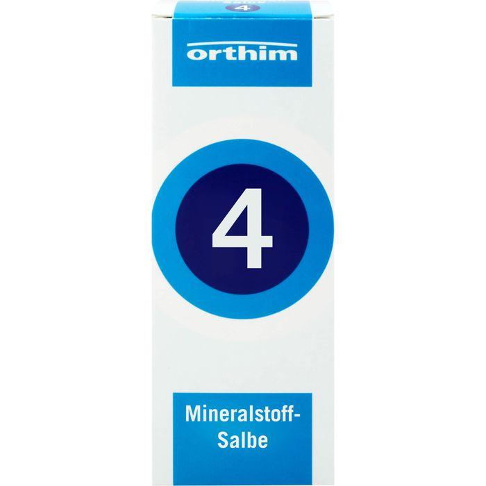 MINERALSTOFF-Salbe Nr.4