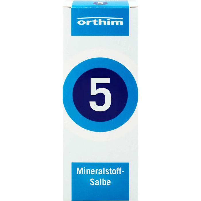 MINERALSTOFF-Salbe Nr.5