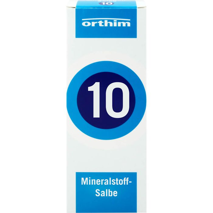 MINERALSTOFF-Salbe Nr.10