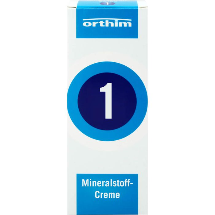 MINERALSTOFF-Creme Nr.1