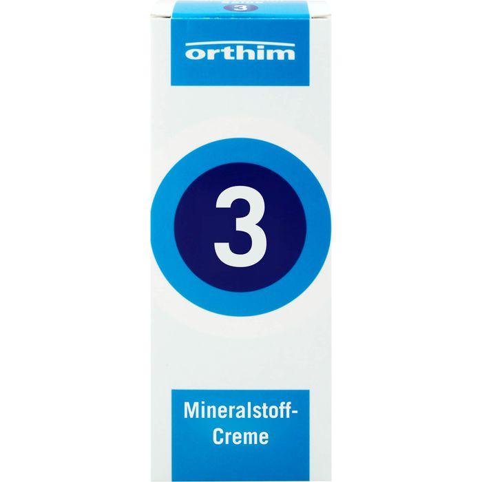 MINERALSTOFF-Creme Nr.3