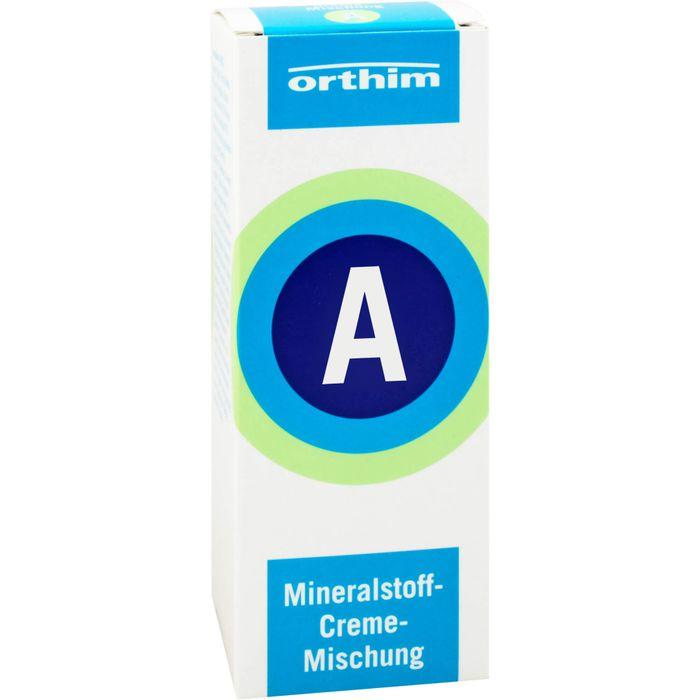 MINERALSTOFF-Creme-Mischung A