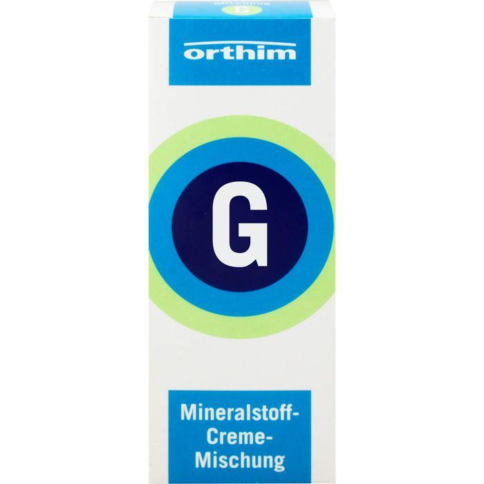 MINERALSTOFF-Creme-Mischung G