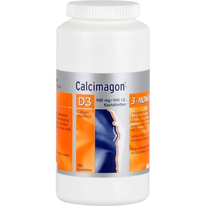 CALCIMAGON D3 Kautabletten