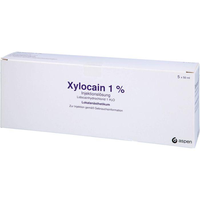 XYLOCAIN 1% Flaschen Injektionslösung