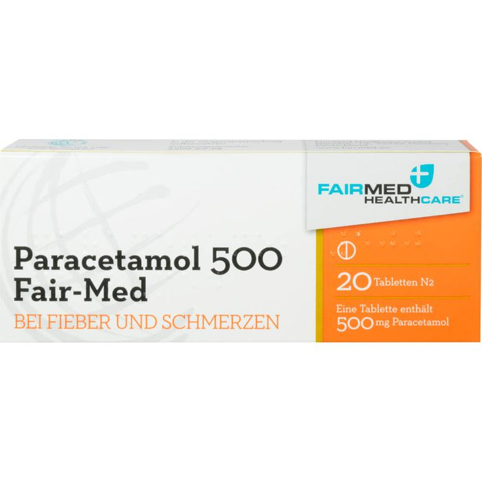 PARACETAMOL 500 Fair Med Tabletten