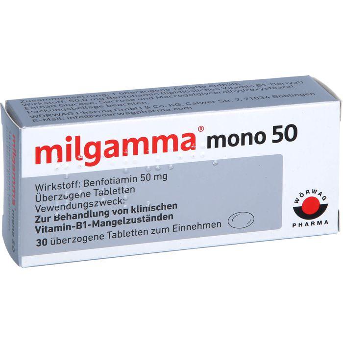 MILGAMMA mono 50 überzogene Tabletten