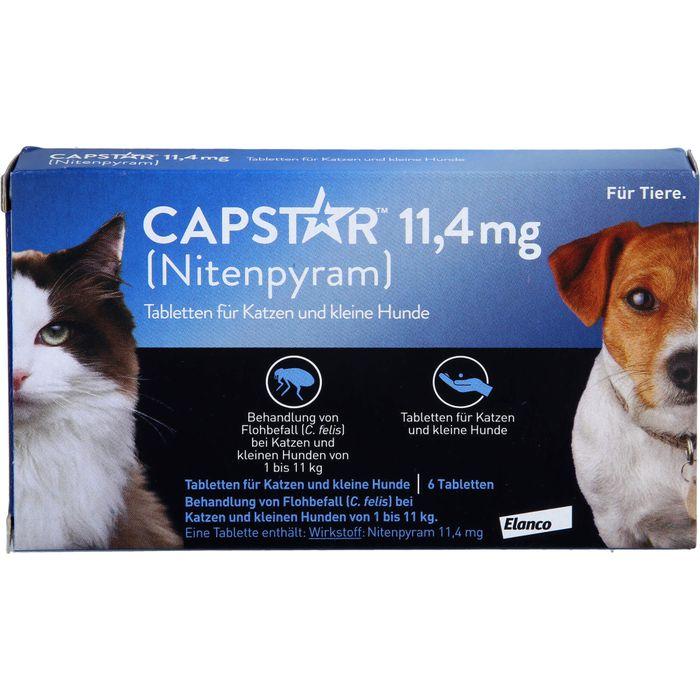 CAPSTAR 11,4 mg Tabletten f.Katzen/kleine Hunde