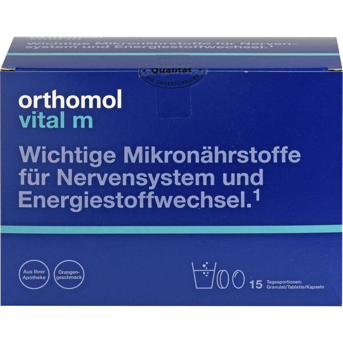 ORTHOMOL Vital M Granulat/Kap./Tabl.Kombip.15 Tage