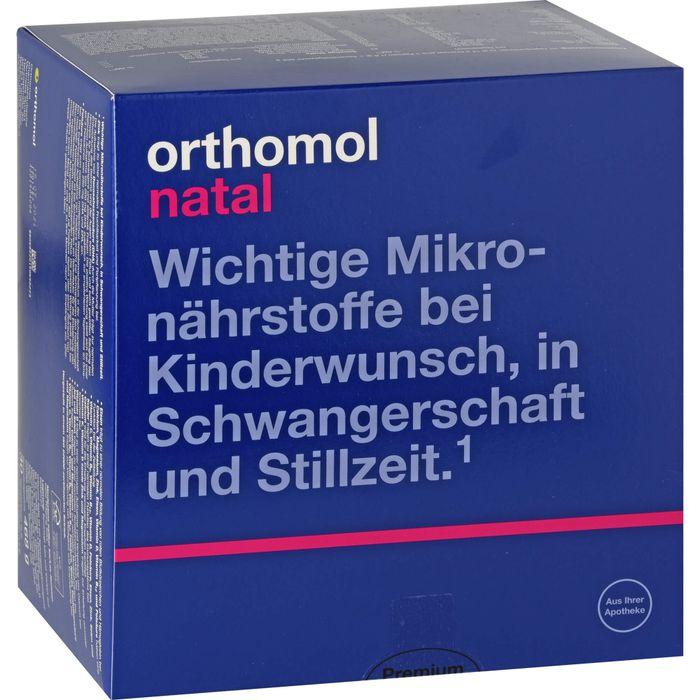 ORTHOMOL Natal 30 Btl.Granulat/Kaps.Kombipackung