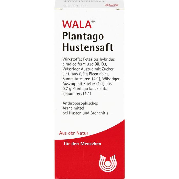 WALA PLANTAGO HUSTENSAFT
