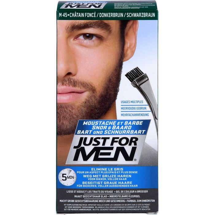 JUST for men Brush in Color Gel schwarzbraun