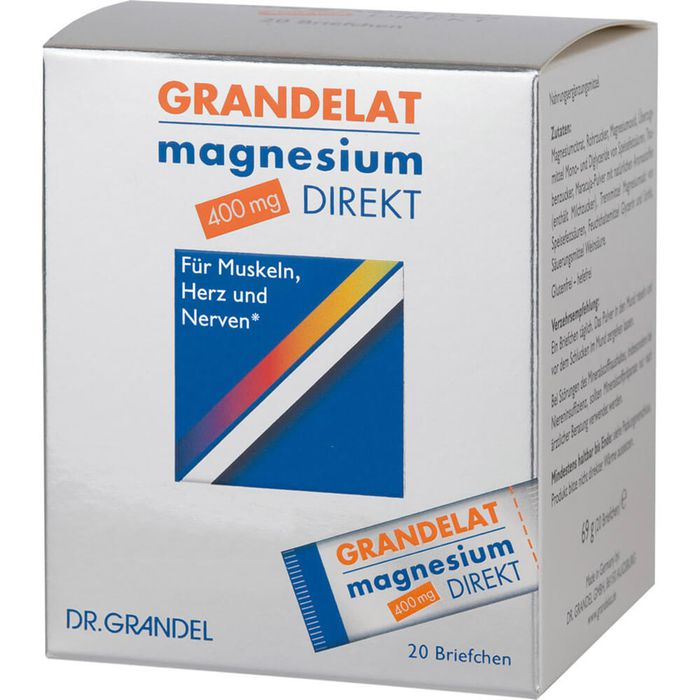 Dr. Grandel MAGNESIUM DIREKT 400 mg Grandelat Pulver