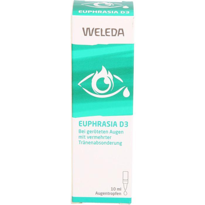 Weleda EUPHRASIA D 3 Augentropfen 10ml