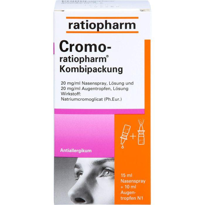 CROMO-RATIOPHARM Kombipackung