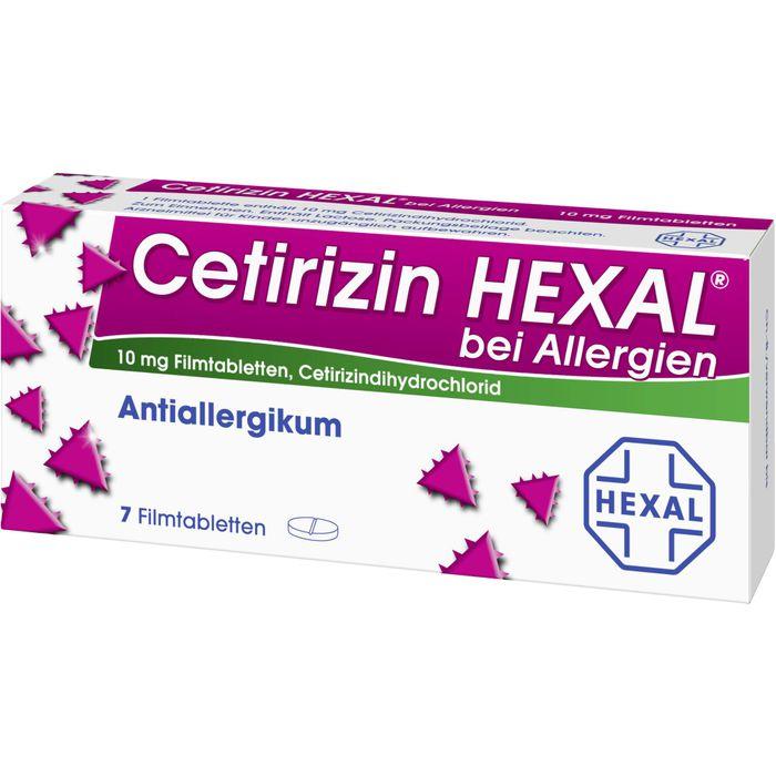 CETIRIZIN HEXAL Filmtabl. b. Allergien