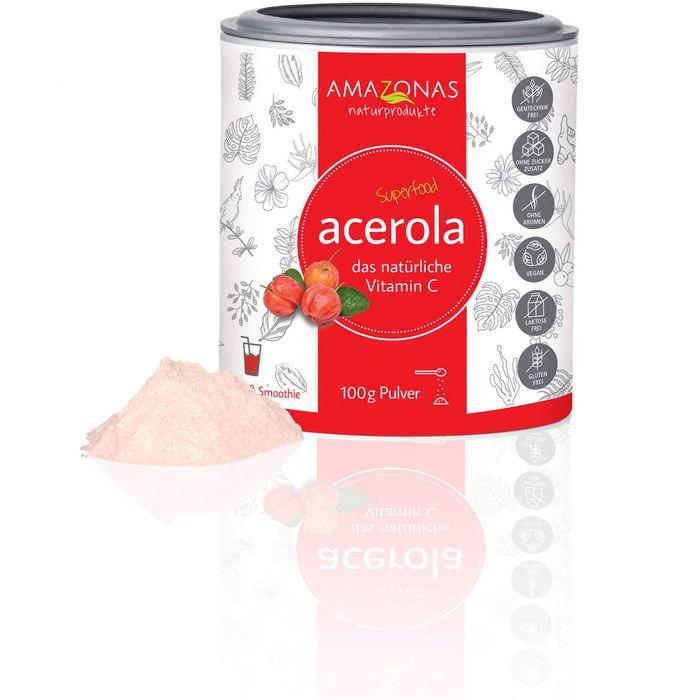 ACEROLA 100% natürliches Vitamin C Pulver