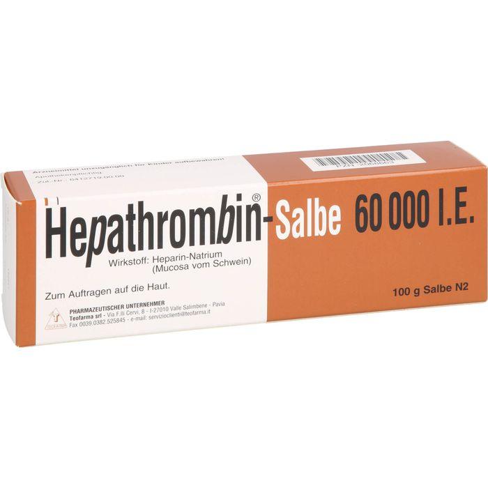 HEPATHROMBIN 60.000 Salbe