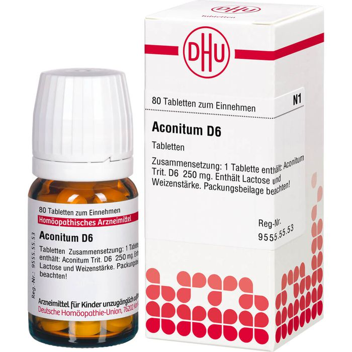 ACONITUM D 6 Tabletten