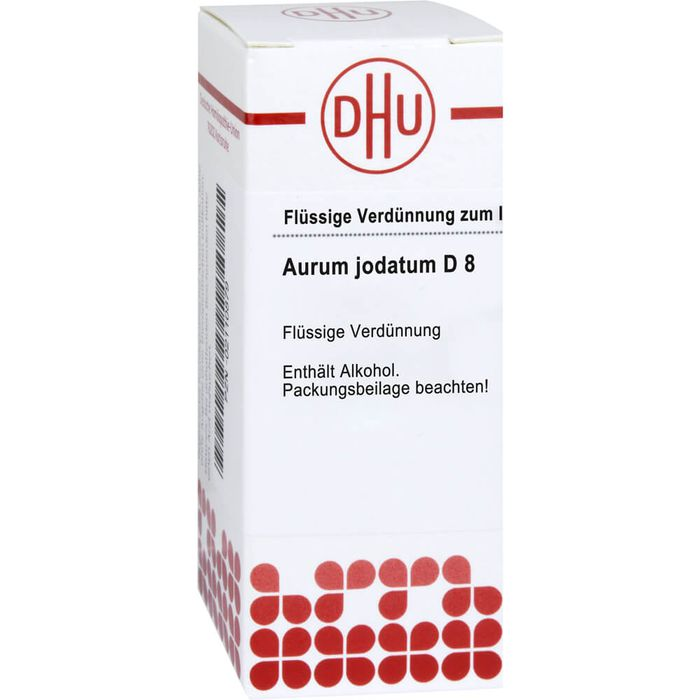 AURUM JODATUM D 8 Dilution