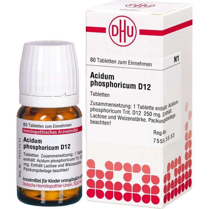ACIDUM PHOSPHORICUM D 12 Tabletten