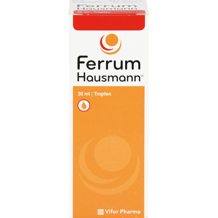 FERRUM HAUSMANN Tropfen zum Einnehmen