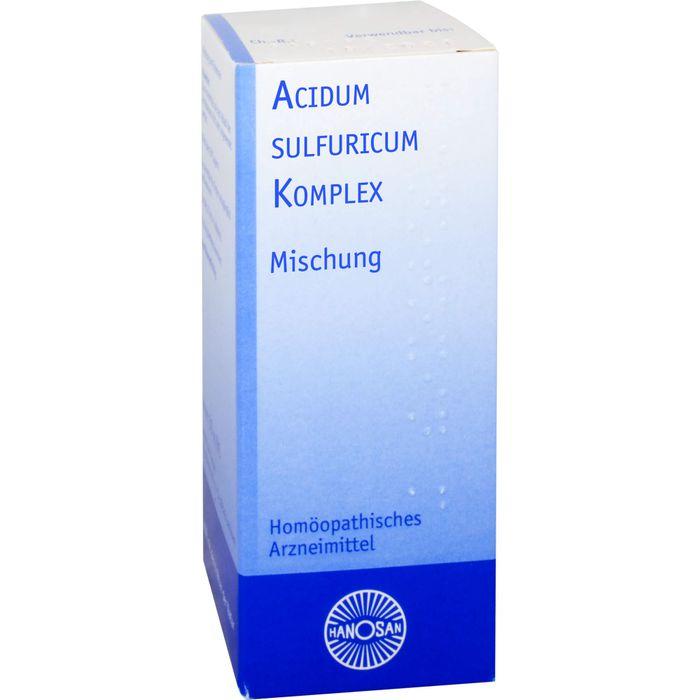 ACIDUM SULFURICUM KOMPLEX flüssig