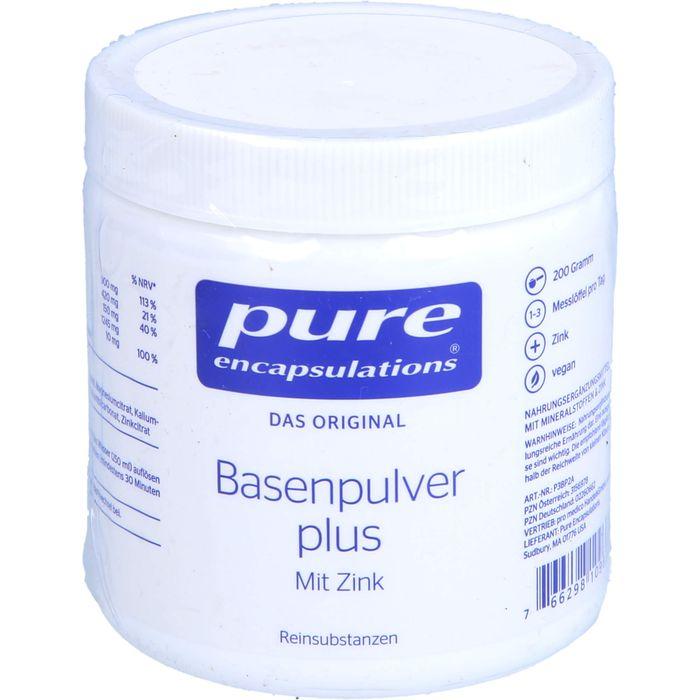 PURE ENCAPSULATIONS Basenpulver plus Pure 365 Plv.