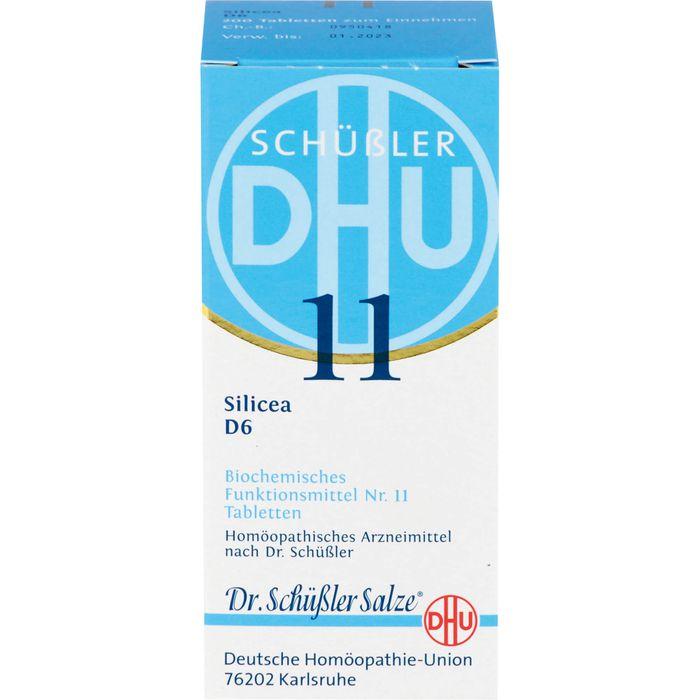 BIOCHEMIE DHU 11 Silicea D 6 Tabletten