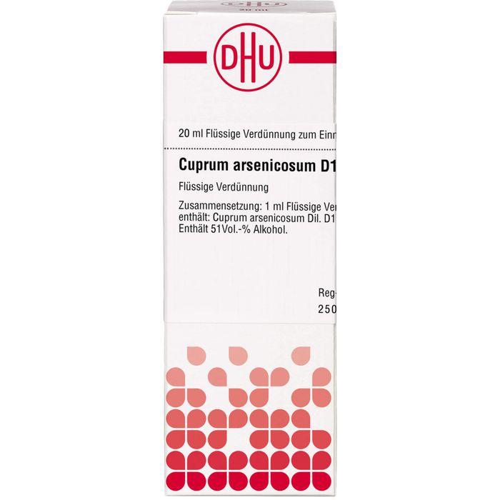 CUPRUM ARSENICOSUM D 12 Dilution