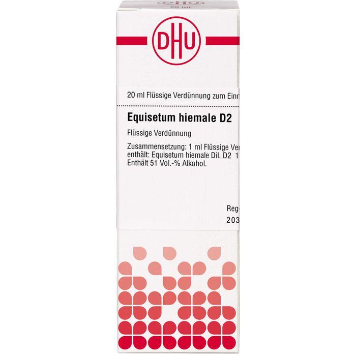 EQUISETUM HIEMALE D 2 Dilution