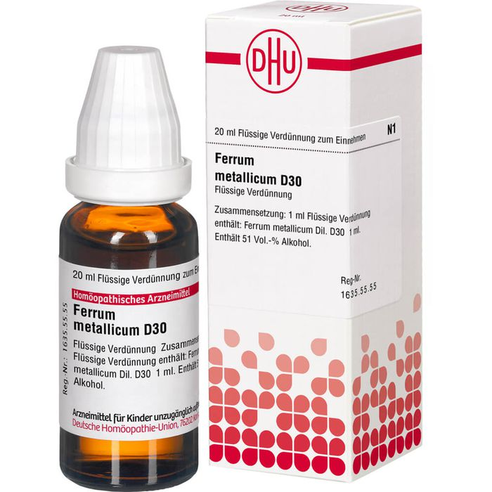 FERRUM METALLICUM D 30 Dilution