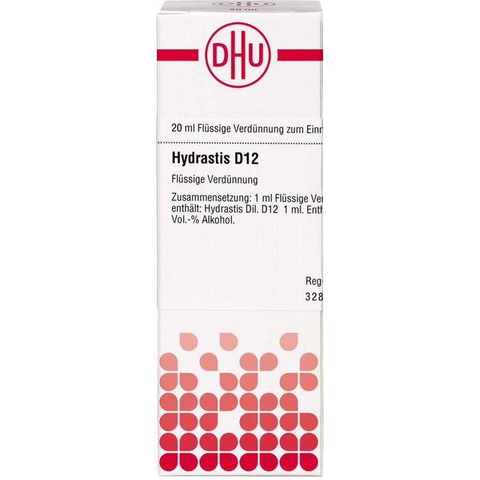 HYDRASTIS D 12 Dilution