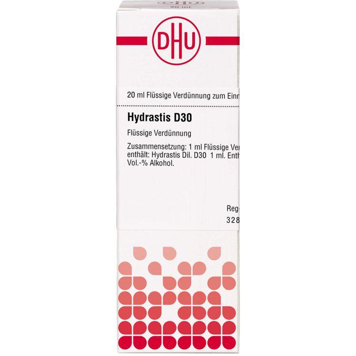 HYDRASTIS D 30 Dilution