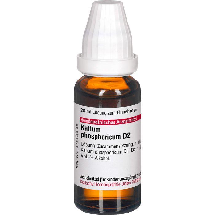 KALIUM PHOSPHORICUM Urtinktur D 2